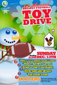 Charity Toy Drive